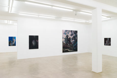 Studien zur Entstehung einer Ungeduld • Studies on the Formation of Impatience - Galerie Nicolas Krupp, Basel, 2012